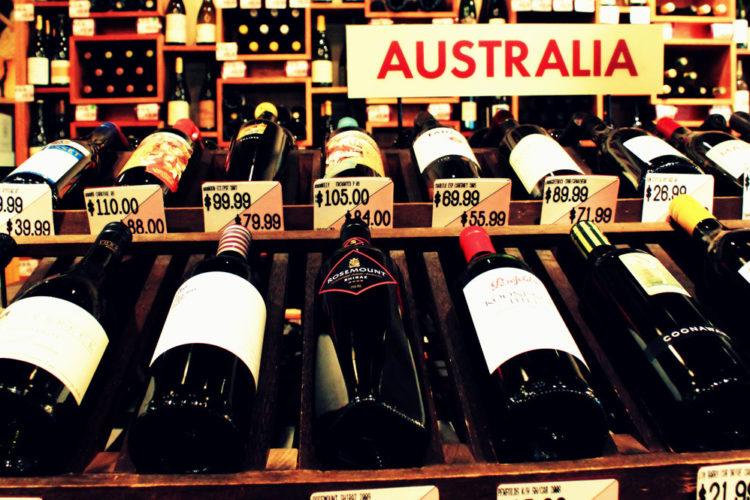 Vino Australiano